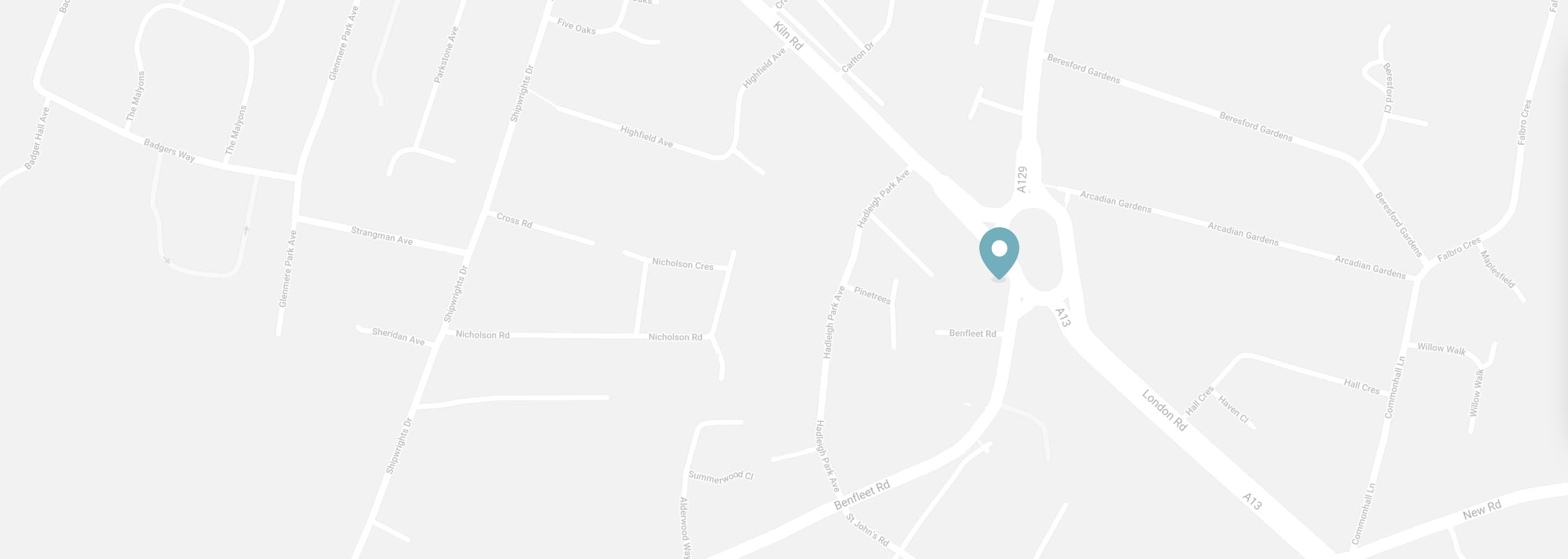 Map of Benfleet Dental Centre